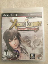 Dynasty Warriors 7: Xtreme Legends (Sony PlayStation 3, 2011) PS3 NEW