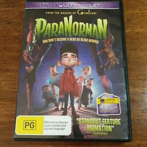 Paranorman DVD R4 LIKE NEW FREE POST