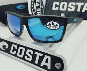 """580G - COSTA DEL MAR tiger shark/blue mirror """"RINCONCITO"""" POLARIZED sunglasses!"""