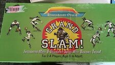 Baseball Card Grand Slam Intergrating Math Geography BB Trivia Board Game VTG