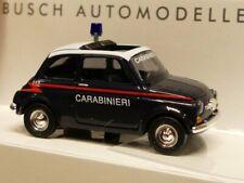 1/87 Busch Fiat 500 Carabinieri 48728