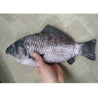 Kawaii Simulation Fish Pen BagTravel Grocery Bags Stationery Storage Fun Case DI