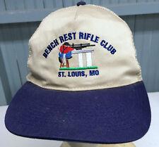 Bench Rest Rifle Club St. Louis Snapback Baseball Cap Hat