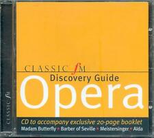 CLASSIC FM DISCOVERY GUIDE: OPERA - CD (2003) ROSSINI MOZART WEBER WAGNER GLUCK