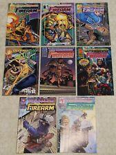 FIREARM - ULTRAVERSE (1993)  Set #1 - 8 NM (Malibu Comics) !!