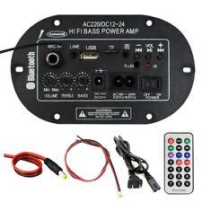 Power Amplifier Board Bluetooth Power Amplifier Radio Memory Card/U disk Player