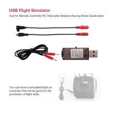 USB Flight Simulator Computer Simulation Flight for JR FUTABA Walkera Devo M1S5