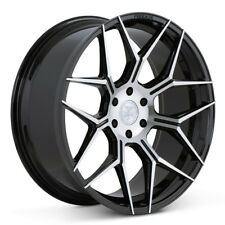 """22"""" FERRADA FT3 MACHINED CONCAVE WHEELS RIMS FITS FORD F-150"""