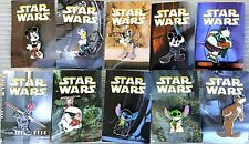 DISNEY 2008 STAR WARS MYSTERY PIN COLLECTION **COMPLETE** SET OF 10 STITCH YODA
