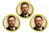 President Theodore Roosevelt Marqueurs de Balles de Golf