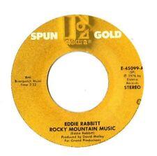 """EDDIE RABBITT.ROCK MOUNTAIN MUSIC /DRINKIN' MY BABY (OFF MIND).U.S.RE-ISS 7"""".EX-"""