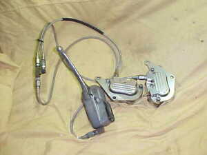 Harley, XL,FX GMA front brake calipers 78-83 with master cylinder, hoses used