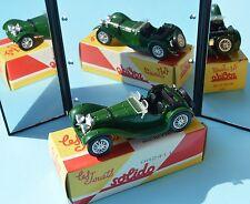 Solido Hachette réédition, 2000-2002, 1/43, Jaguar SS 100, 1938