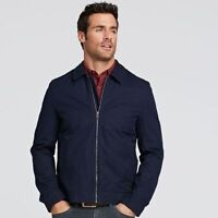 NWT Timberland Men's Stratham Bomber Jacket Classic Cotton Twill A1JCH All Size