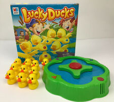 Milton Bradley Lucky Ducks Board Game Replacement Parts Pieces Color Match 2005