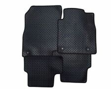 Toyota IQ (2009 on) Fully Tailored Car Floor Mats RUBBER HEAVY 2 Clips