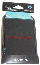 "Genuine GARMIN nuvi 5"" Universal Soft Slip Carry Case GPS PROTECTOR 010-11793-00"
