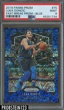 2019-20 Panini Prizm Fast Break Blue #75 Luka Doncic Mavericks 119/175 PSA 9