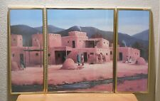 M Caroselli Southwest Art Print 1990 Scafa-Tornabene Art Publishing Co Litho USA