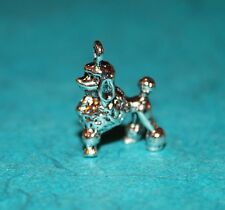 Pendant Poodle Charm French Poodle Charm Dog Animal Charm Foo-Foo Miss Piggy