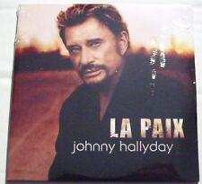 Johnny HALLYDAY (CD single)  LA PAIX / ELLE S'EN MOQUE   NEUF  REEDITION 2006