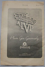 1942 Alvis Original advert No.4