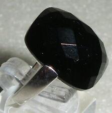 Ring Gr. 56 aus 925 Silber mit schwarzem Achat neuwertig aus Geschäftsauflösung
