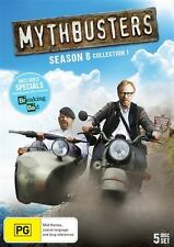 Mythbusters : Season 8 : Collection 1 (DVD, 2013, 5-Disc Set) New & Sealed