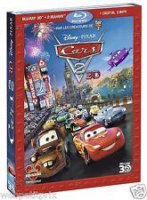 Cars 2 -  BLU-RAY 3D ACTIVE + BLU-RAY -VF - NEUF