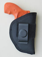 "Inside Pants IWB Holster for CHARTER ARMS 2"" 5 SHOT 38 Undercover & Off Duty"
