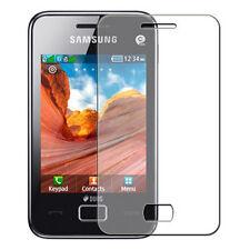 Samsung S5220 Star 3 / S5222 Duos - 1x film de protection semi rigide + chiffon