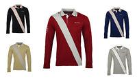 Egon von Fürstenberg langarm Polo Shirt longsleeve