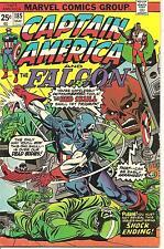 Captain America # 185 May 1975 Marvel The Falcon Steve Englehart