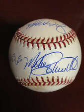 1983 World Series Starter Ball  Signed by 4 Players