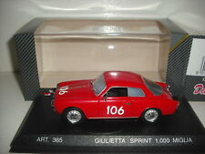 Detail Cars Alfa Romeo Giulietta Sprint 1000 Miglia REF:365