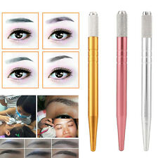 Neu Permanente Tätowierung Stift Tattoo Pen Lippen-Augenbrauen Kosmetik Werkzeug
