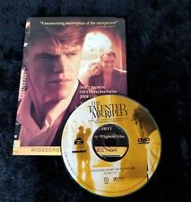 Video Dvd - The Talented Mr Ripley - Very Good - (Vg) Worldwide