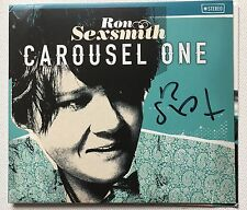 RON SEXSMITH - CAROUSEL ONE HAND SIGNED CD ALBUM AUTOGRAPHED