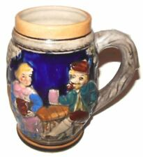 Antique German Beer Stein Good Not Perfect Condition