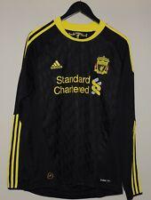 Liverpool 2010/2011 Third Long Sleeve Football Shirt Jersey Adidas M Adult