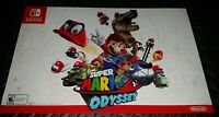"""Super Mario Odyssey(Nintendo Switch 2017) Double-Sided Promotional Poster11""""×17"""""""