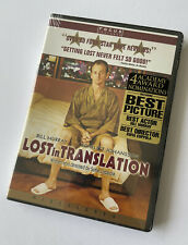 Lost in Translation (Dvd 2003) Murray Johansson Faris Ribisi Coppola New Sealed