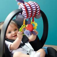 Baby Activity Spiral Stroller Car Seat Crib Cot Pram Hanging Toy Rattles UK