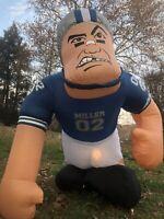 HUGE NIB New Vintage Miller Lite Beer Inflatable Football Store Yard Bubba Lawn