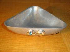 """7"""" Triangular Decorative Aluminum Bowl $12"""