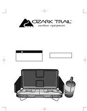 Ozark Trail 2-Burner 20000 BTU Propane Camp Stove with Wind Guard