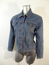 Levi's women's trucker jean jacket blue misses S