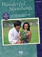 Wonderful Standards Sheet Music Organ Adventure New 000199011