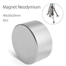 ☆ Block 40x40x20mm Super Strong N52 High Quality Rare Earth Neo Magnet