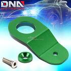 For Ek Dc S2k Green Cnc Aluminum Radiator Stay Mount Bracket Tap+fender Washer photo